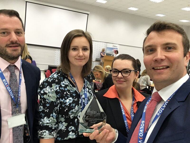Solvo Vir Attend HCUK Skills Support for the Workforce Humber Success Awards